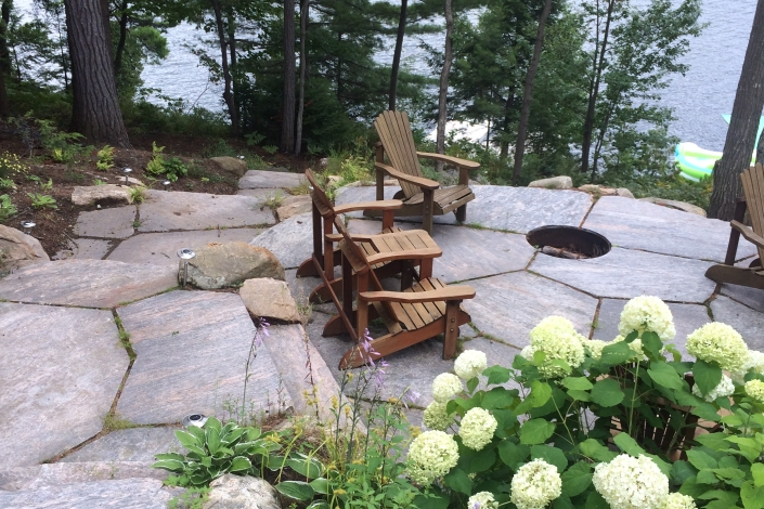 Attractive Cottage Septic Systems 5 Muskoka Firepit